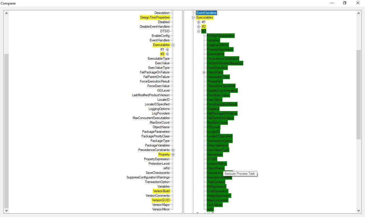 SSIS Compare & Merge Tool - Visual Studio Marketplace